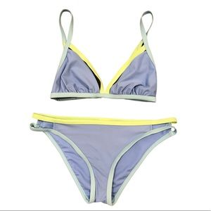 Blue and Green Bikini set! Small Top, Med. Bottoms
